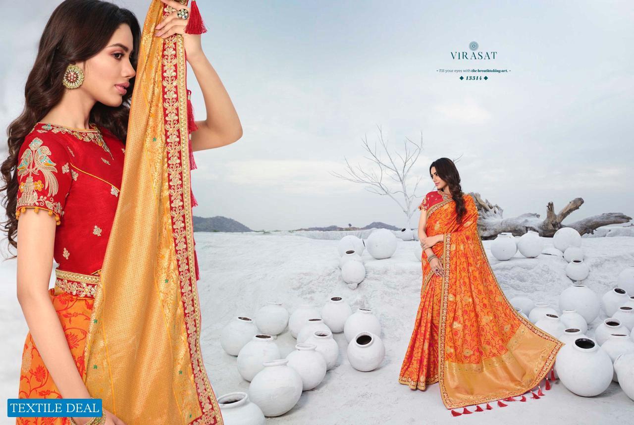 Royal Virasat Vol-39 Wholesale Festive Diwali Special Sarees