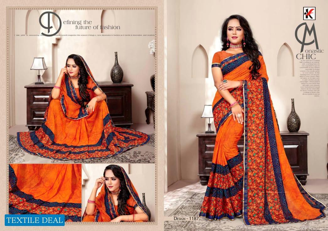 Kodas Fuzzy Vol-31 Wholesale Printed Indian Sarees