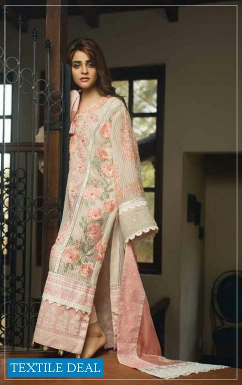 Rub Nawaz Wajid Khan Eid Collection Wholesale Chikankari Work Pakistani Dress