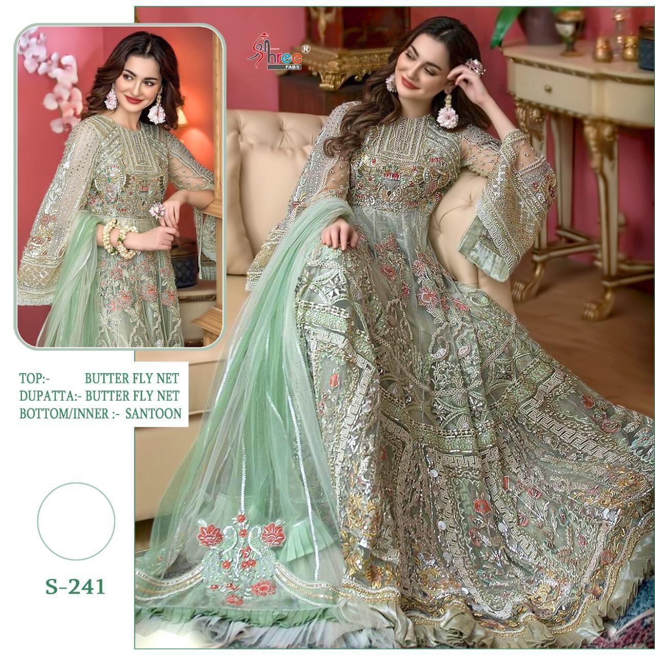 Shree Fabs S-241 Colours Wholesale Pakistani Concept Dress