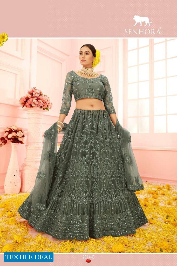 Senhora Heritage Colour Saga Vol-5 Wholesale Bridal Lehengas