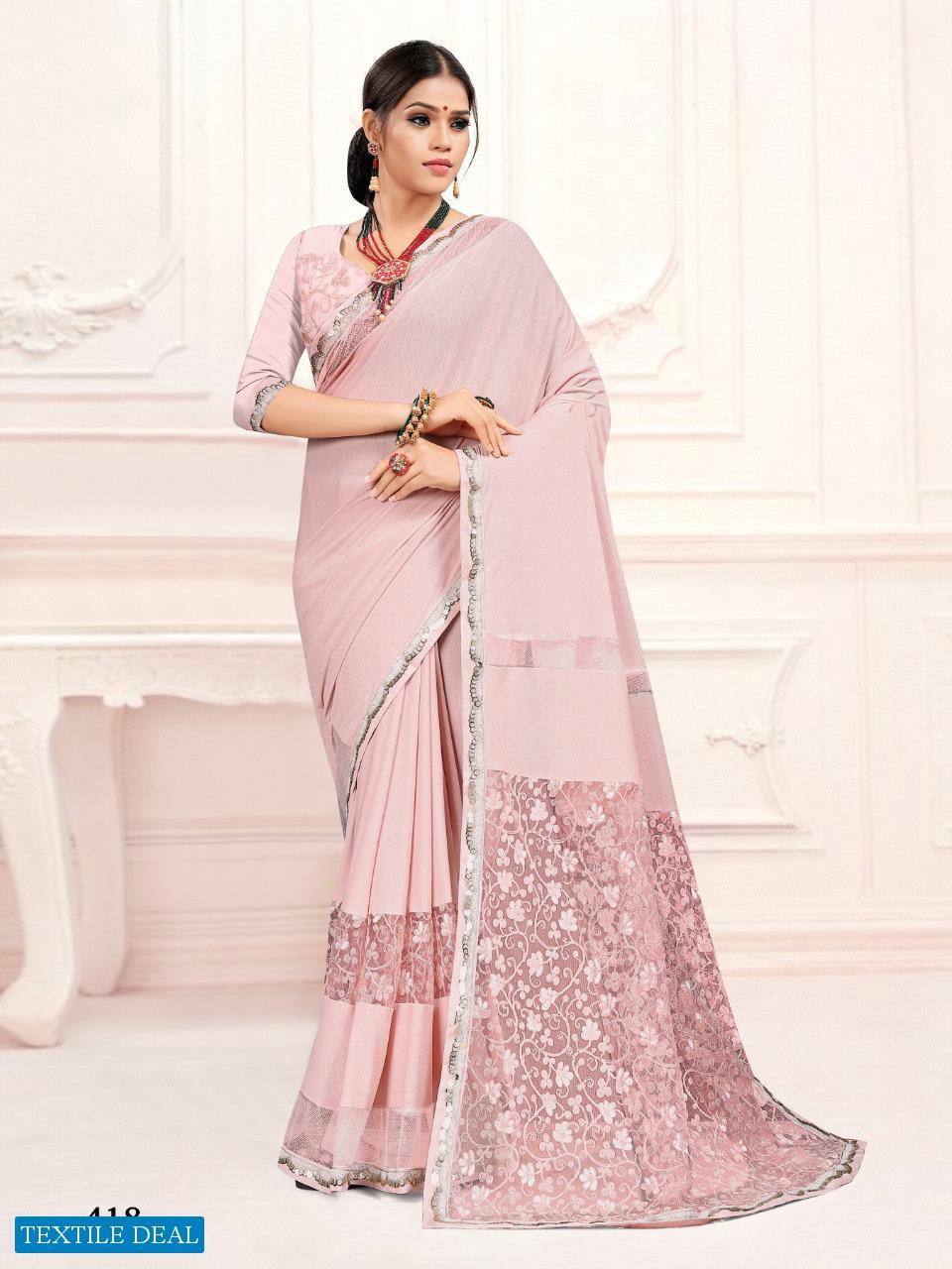 Mehek 401 To 420 Series Wholesale Fancy Indian Sarees