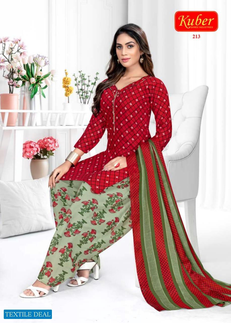 Kuber Kudi Patiyala Vol-2 Wholesale Unstitched Cotton Dress Material