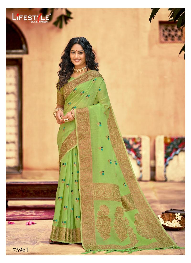 Lifestyle Manmohini Wholesale Chanderi Silk Sarees