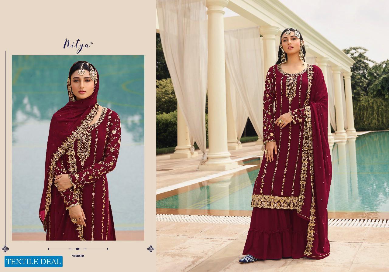 LT Nitya Vol-173 Wholesale Diwali Special Salwar Kameez