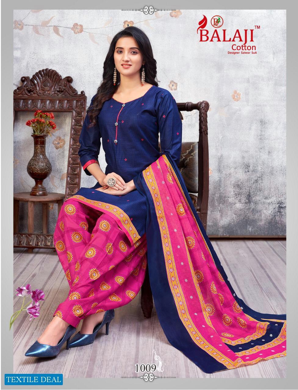 Balaji Sui Dhaga Vol-1 Wholesale Printed Dress Material