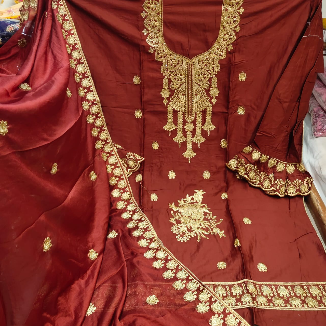 Branded dress materials wholesale in india