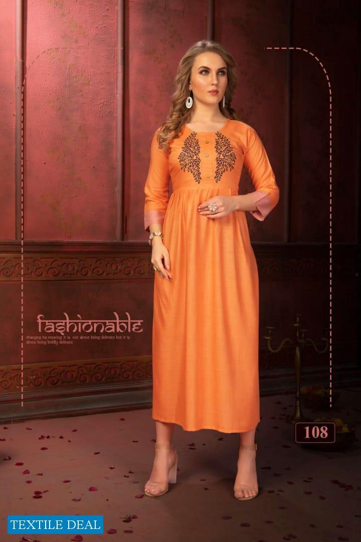 Fashion Talk Panoli Wholesale Fashionable Tunics