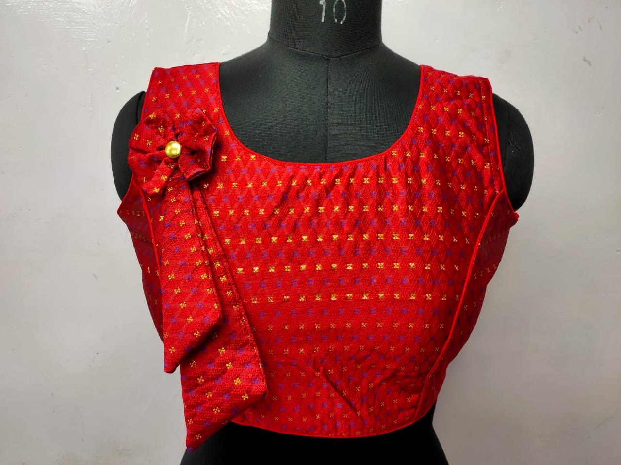 Heavy Jaquard Blouse wholesale in india
