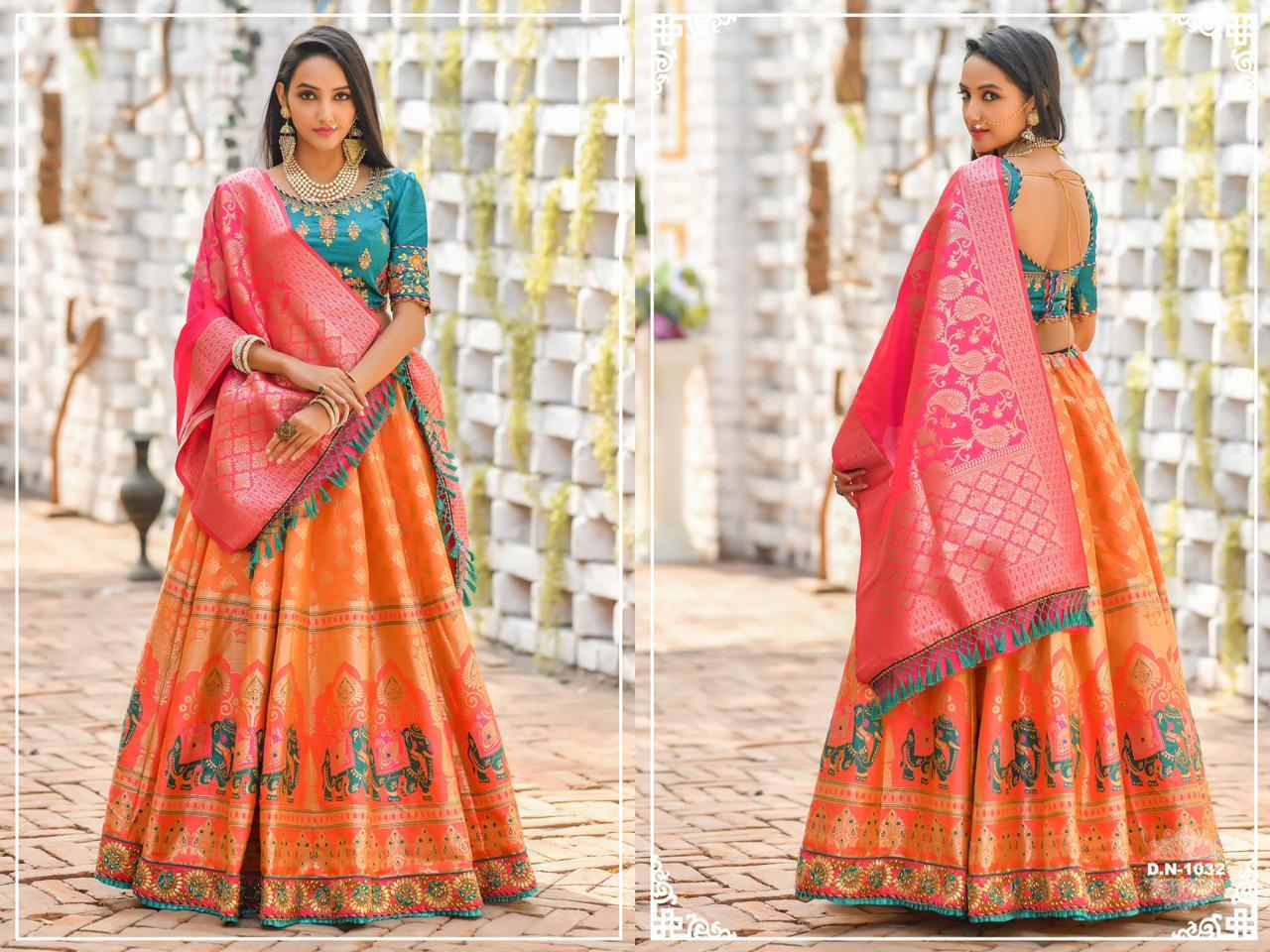 Heavy Looking High work Branded Lehengha Choli wholesale in india