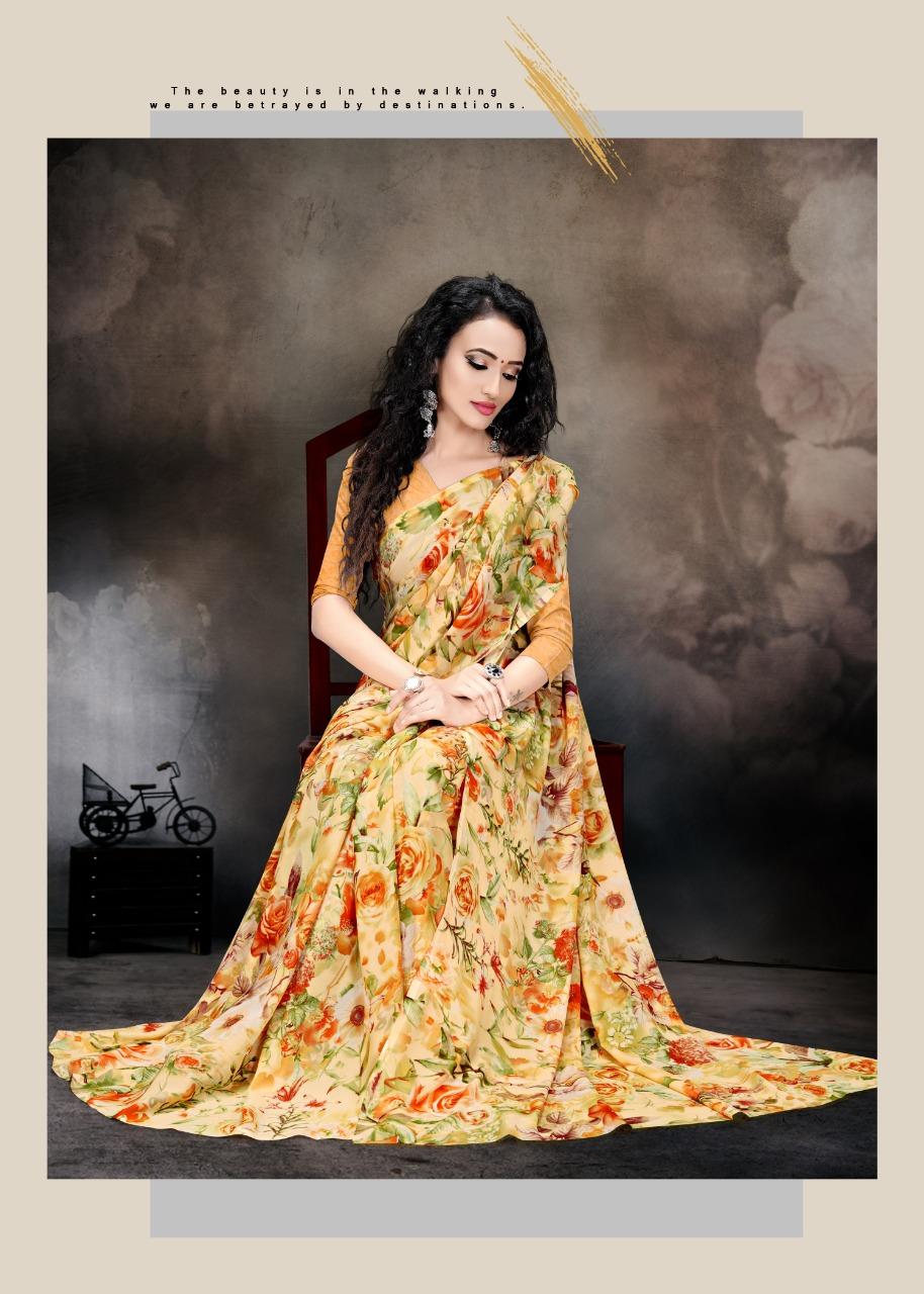 Kodas Future Fashion Vol-5 Wholesaler Printed Ethnic Sarees