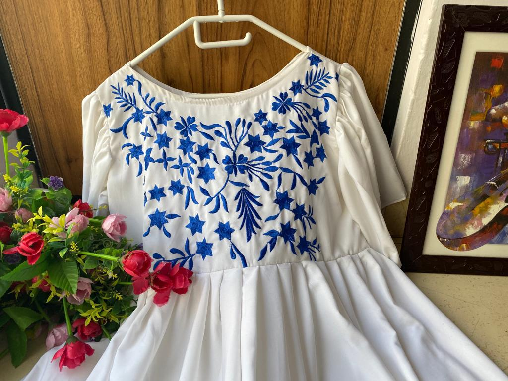 PRESENTING NEW DESIGNER  EMBROIDERED GOWN WHOLESALE IN INDIA