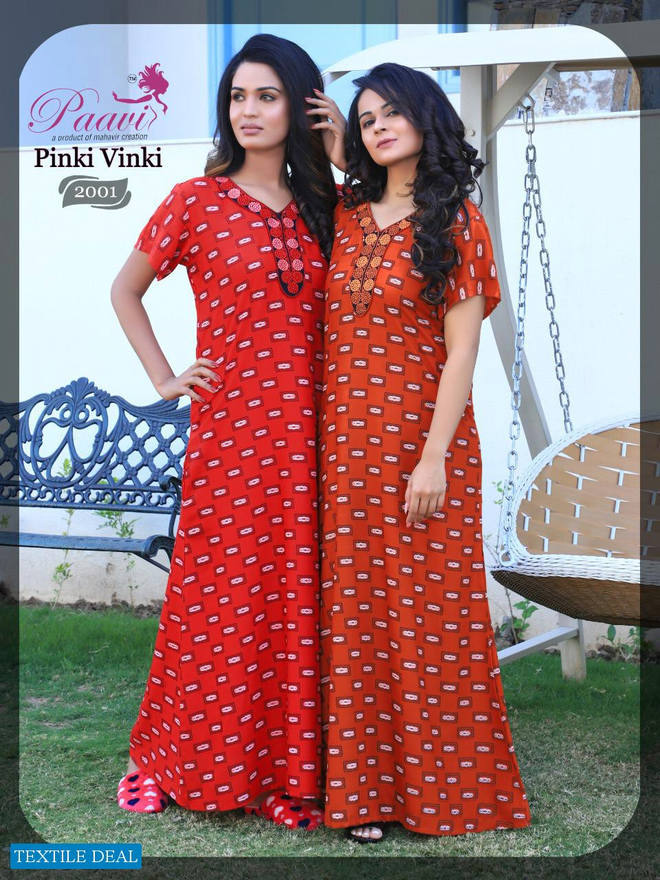 Paavis Pinki Winki Vol-2 Wholesale Nighty Gown Catalog