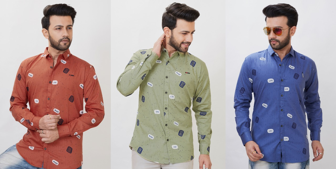 Party wear good looking mans shirt wholesale in india