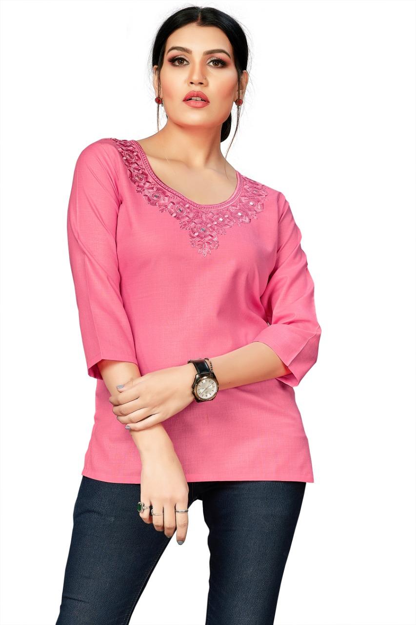 Prerana Women Cotton Tops Wholesale in India