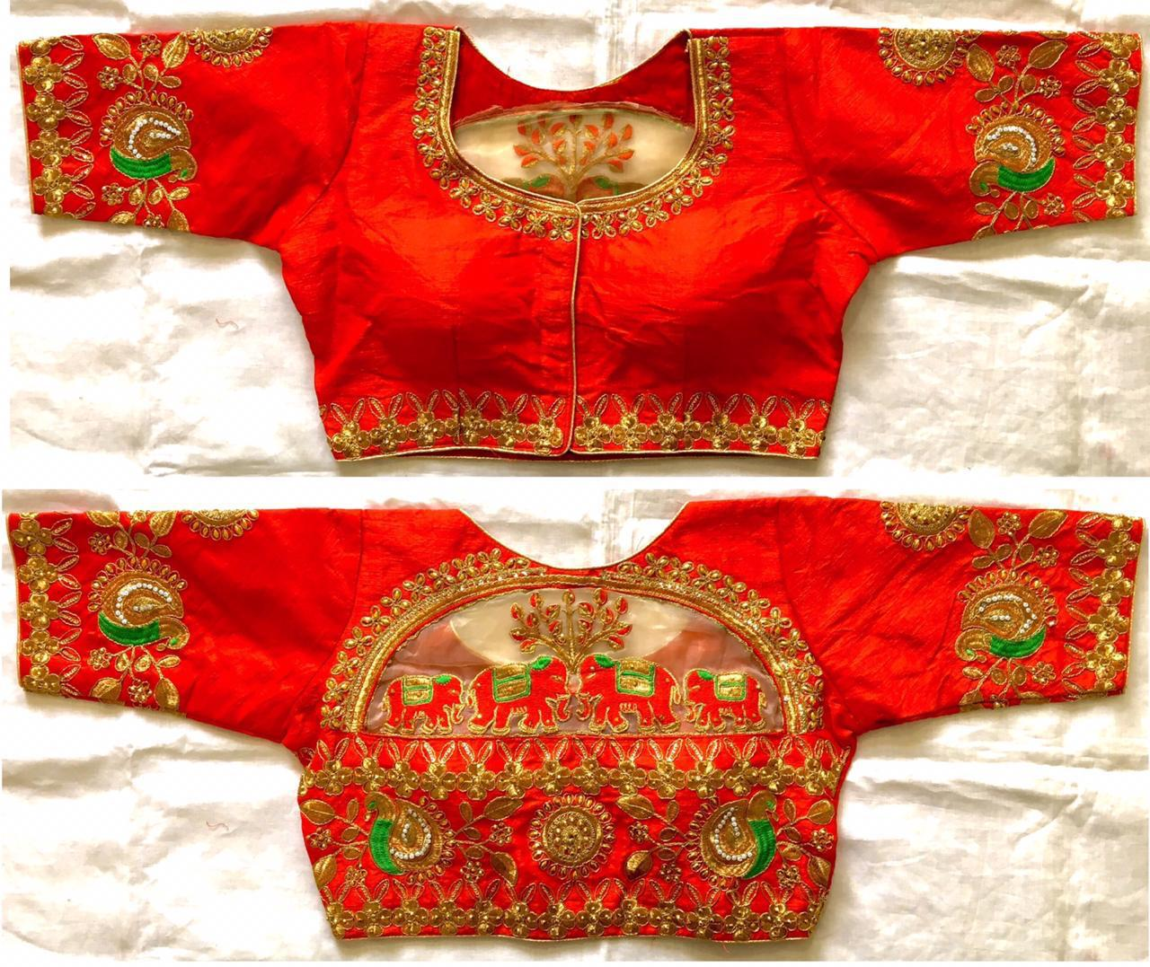READYMADE DESIGNER BLOUSE WHOLESALE IN INDIA