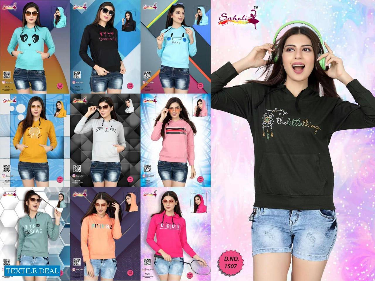 Saheli Sweat Shirts Wholesale Winter Shirts