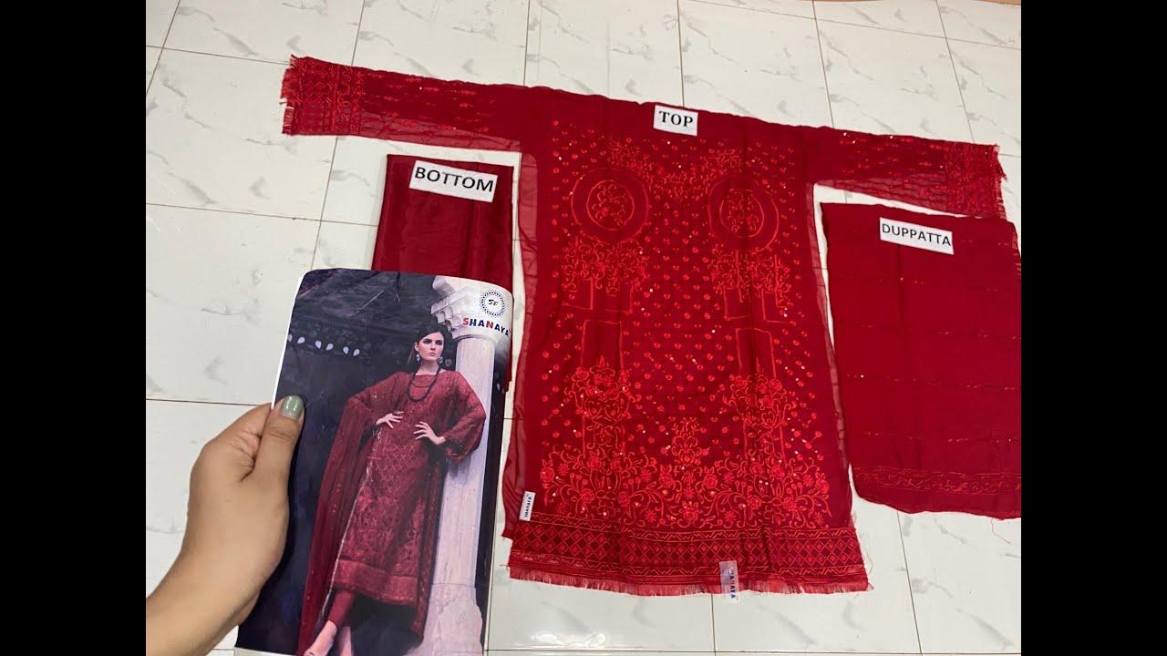 Shanaya S 804 Georgette Salwar Suit wholesale in india