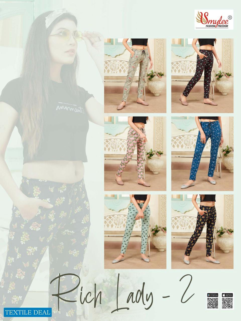Smylee Rich Lady Vol-2 Wholesale Leggings