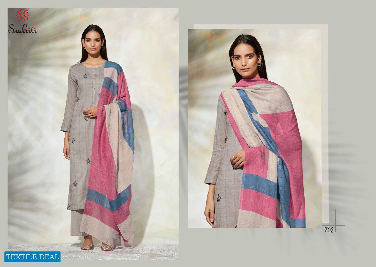 Sudriti Gulrang Wholesale Shopping Cotton Satin Dress Material