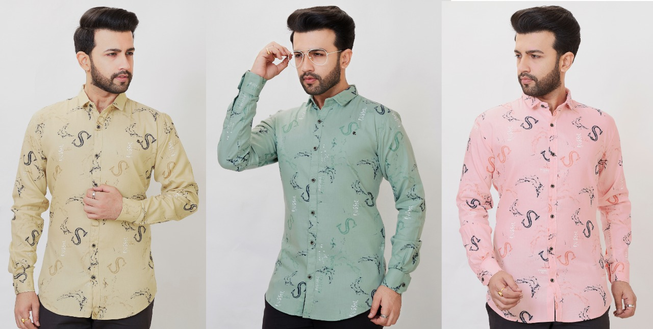 TRIE COLUR MANS SHIRT WHOLESALE IN INDIA