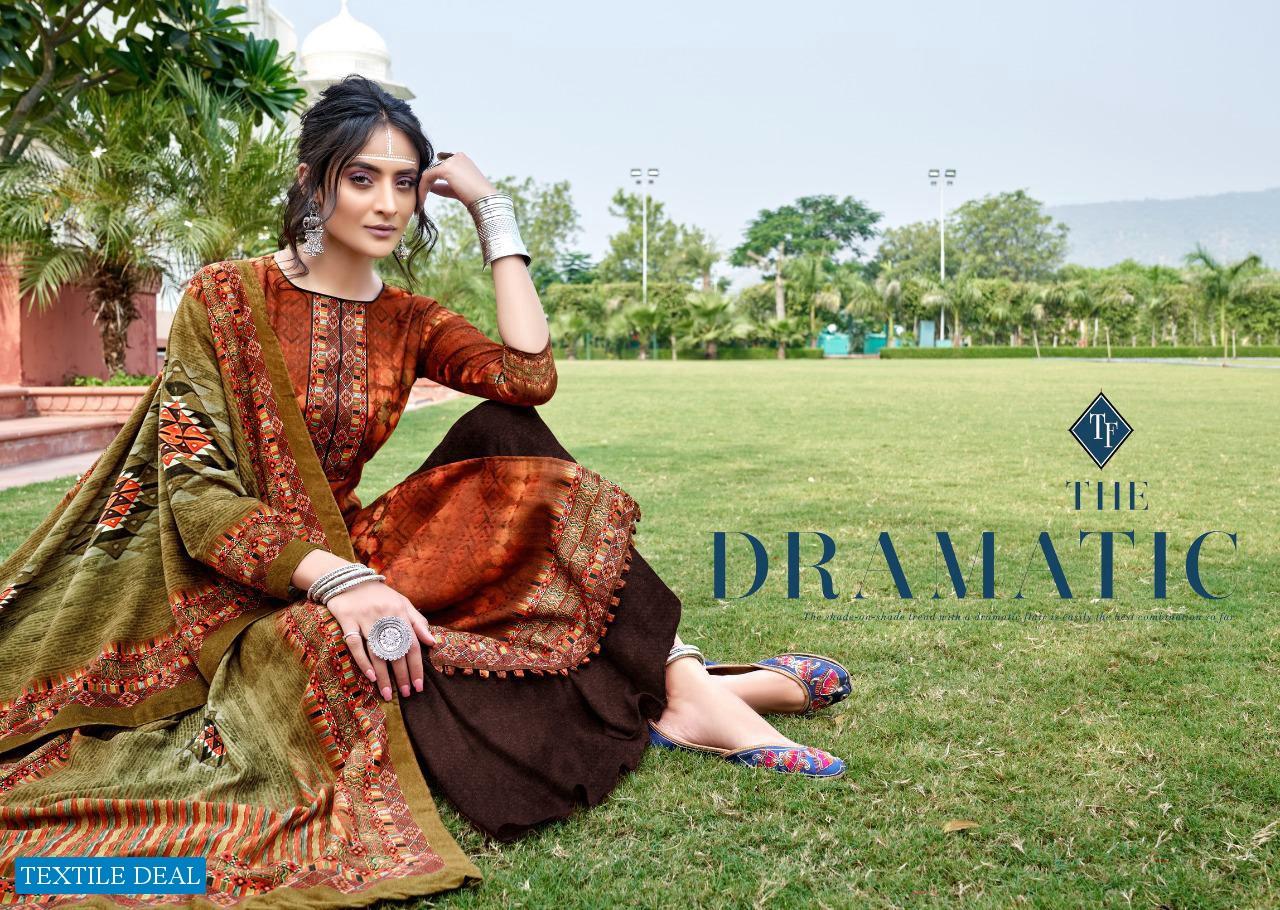 Tanishk Hazel Winter Special Pashmina Fabrics Dress