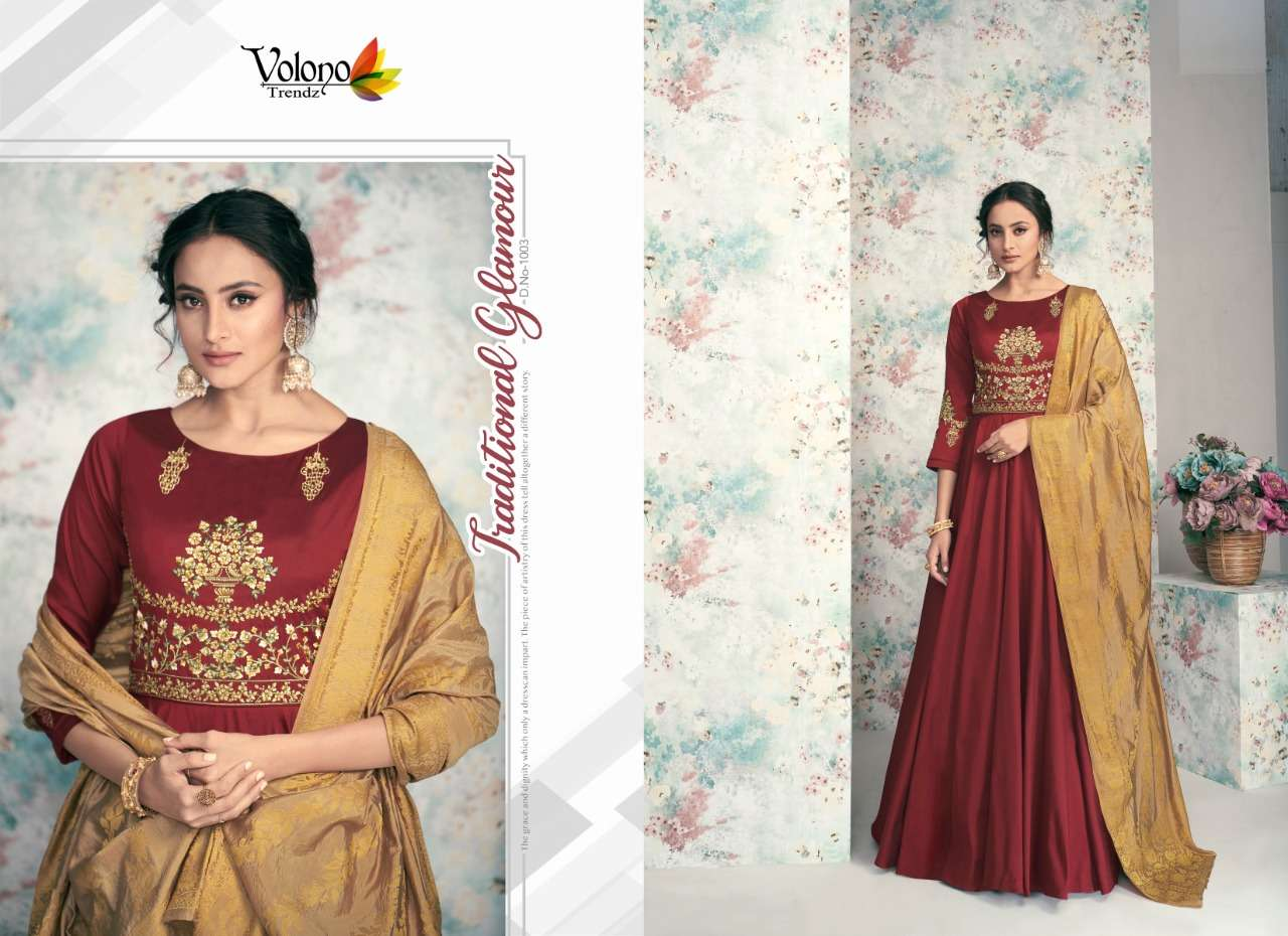 Volono Poshak Vol-2 Wholesale Full Stitch Designer Dresses