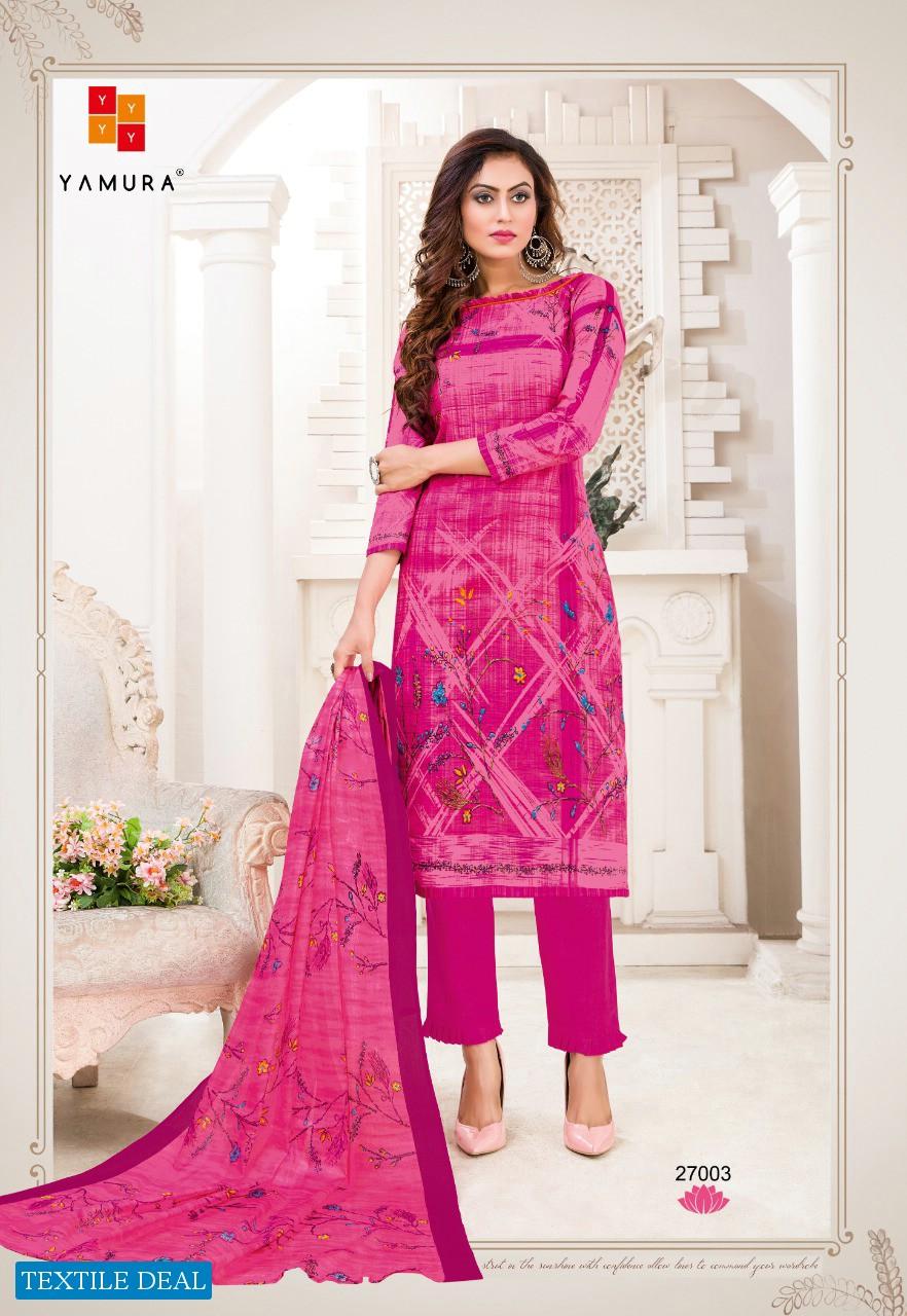 Yamura Almora Karachi Special Wholesale Shopping Cotton Dress Material