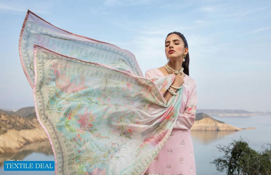ZS Kalyan Designer Embroidered Chikan Kari Collection Vol-3 Wholesale Pakistani Dress